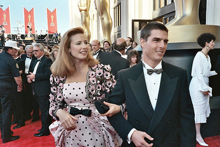 تام کروز و همسر سابقش میمی راجرز