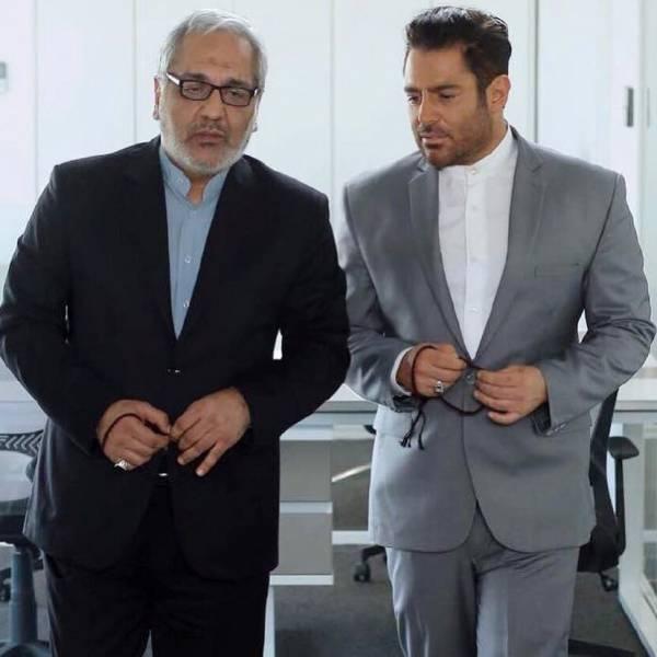 مهران مدیری در نمایی از فیلم رحمان 1400