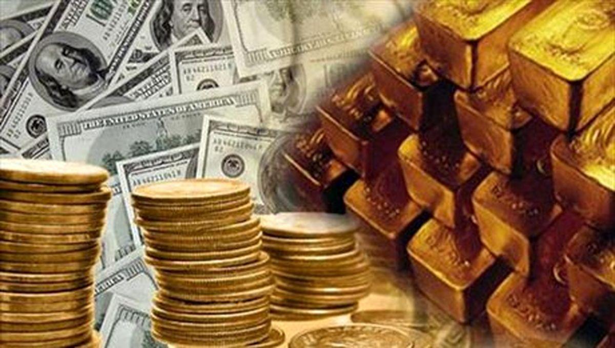 آخرین قیمت سکه، طلا و ارز در بازار روز چهارشنبه 15 مرداد