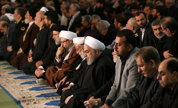 چهره های حاضر و غایب در نمازجمعه امروز