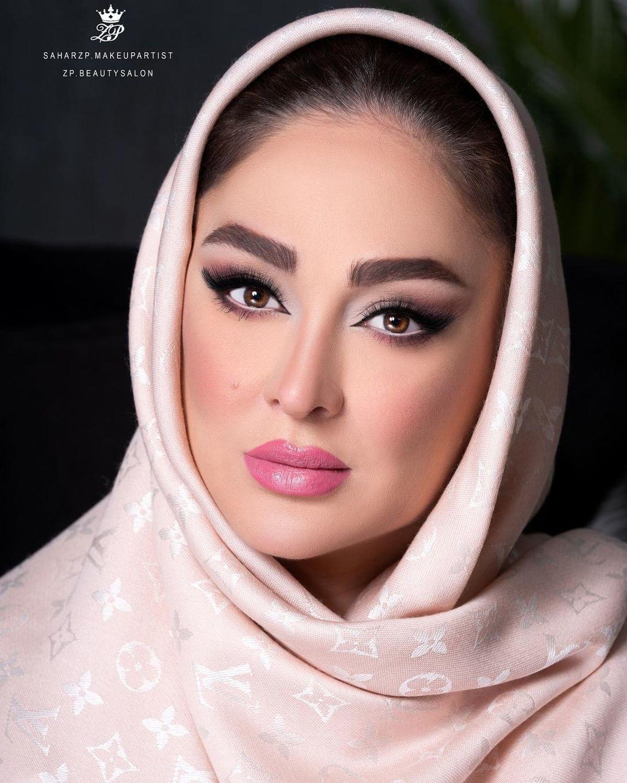رونمایی از چهره جدید الهام حمیدی | عکس همسر و فرزند الهام حمیدی