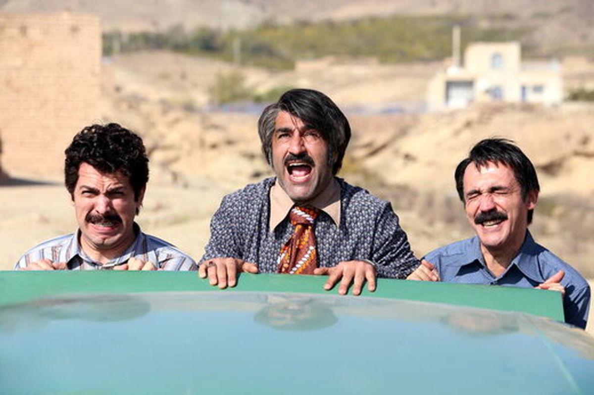 عکس «زیر خاکی» پژمان جمشیدی و هادی حجازیفر در تلویزیون