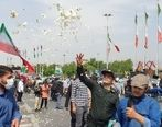 اجرای خودجوش مراسم روزقدس در تهران + فیلم و عکس