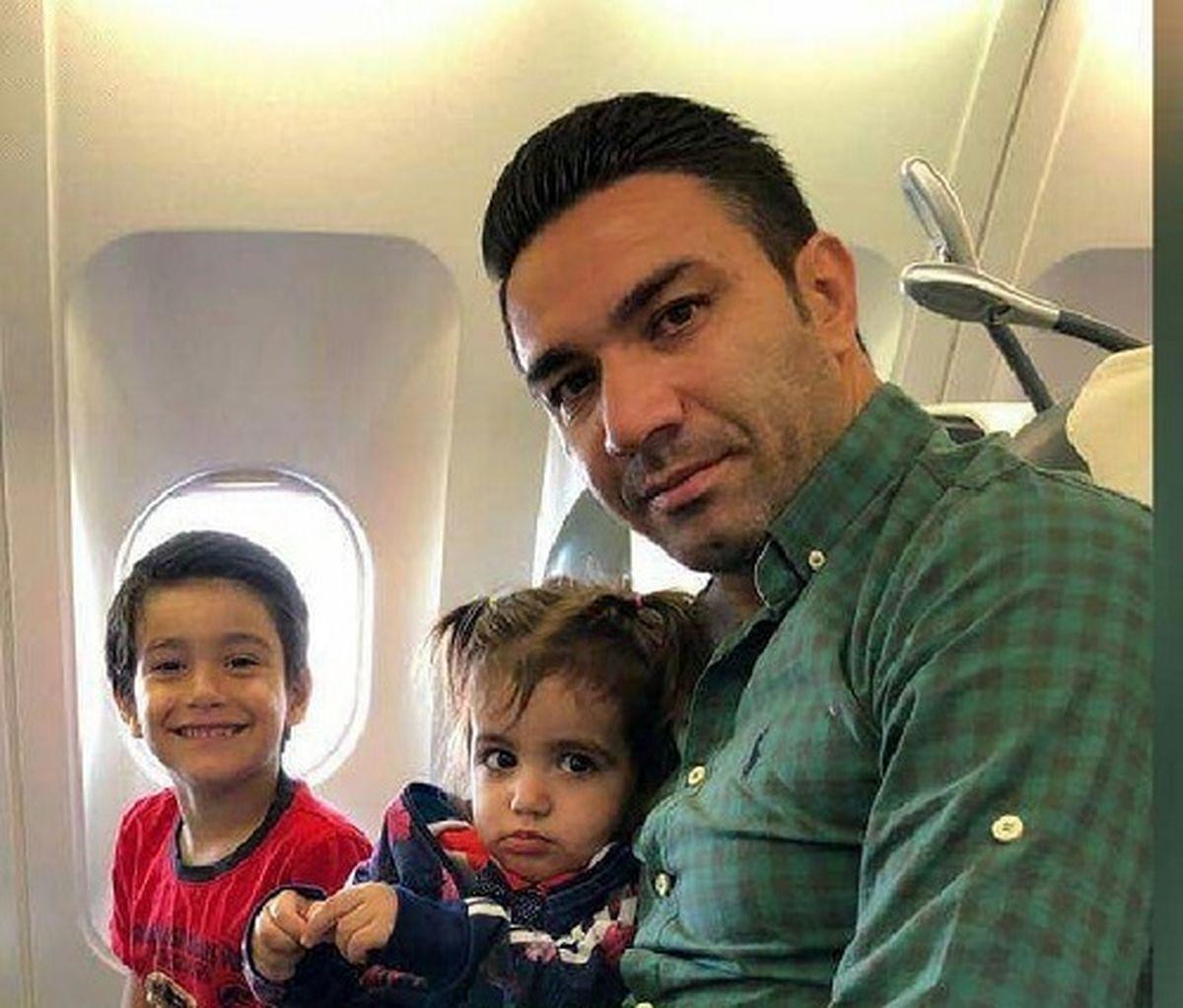 جشن تولد فوتبالی پسر جواد نکونام + تصاویر