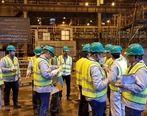 بازدید ارزیابان ارشد فولاد خوزستان از طرح های منتخب بخش های فعال در نظام مشارکت