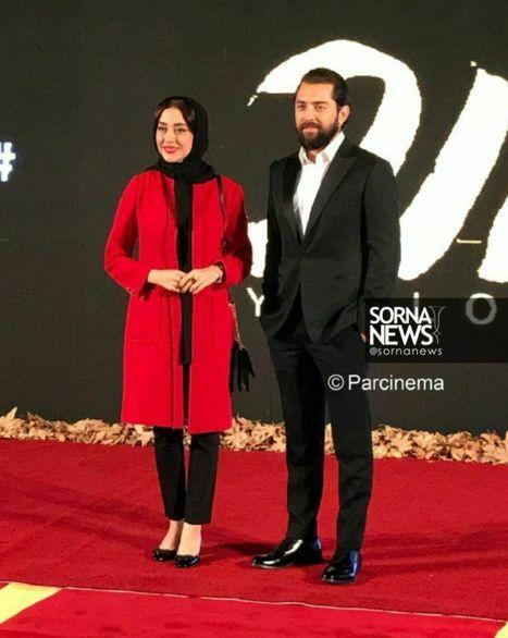 عکس جنجالی بهرام رادان در کنار بازیگر زن معروف+عکس