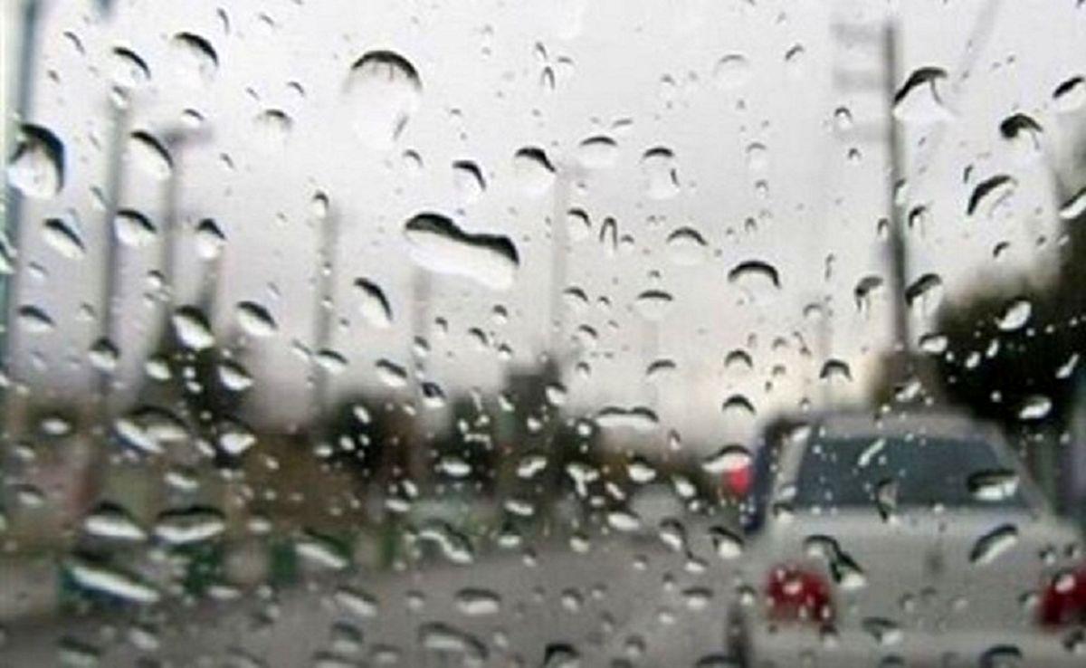 جادههای این ۴ استان بارانی است