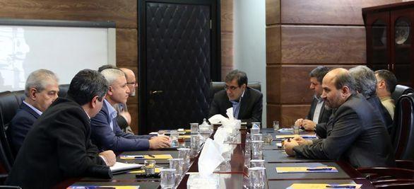 دیدار اعضای شورای فنی و مدیریت ریسک با سرپرست بیمه ایران