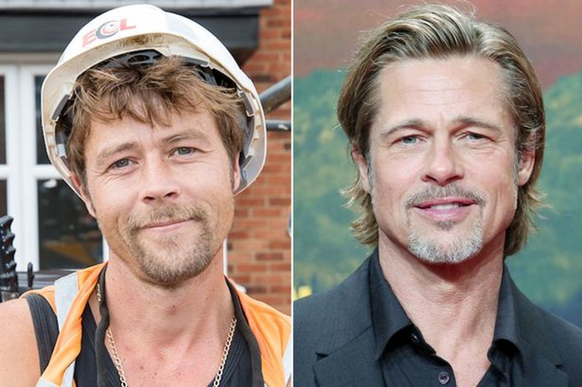 Brad Pitt's Look-Alike Is Oxford Man Nathan Meads +photos