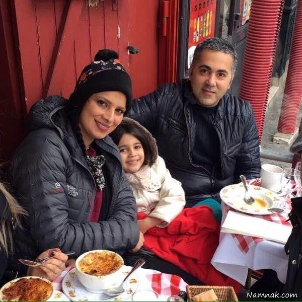عکسهای خانوادگی روشنک عجمیان