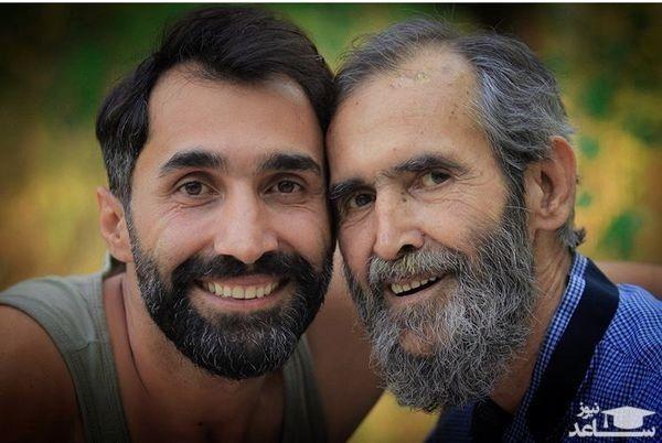 هادی کاظمی و پسرش