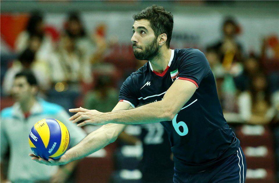 غیبت سید والیبال ایران در بازی با پرتغال - خبرآنلاین
