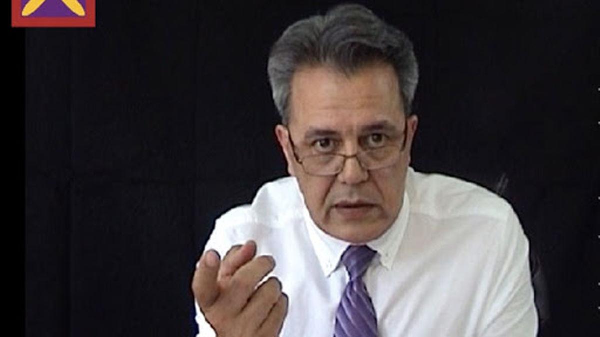 تصویر لورفته از جمشید شارمهد پس از دستگیری