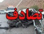 تصادف زنجیره ای وحشتناک در اتوبان تهران قزوین ؟ 17 خودرو به هم خوردند