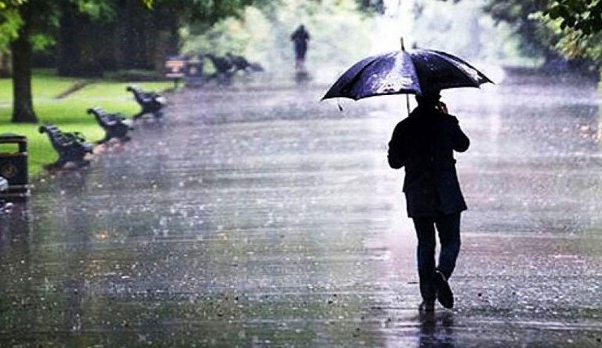 بارندگی در نیمه شمالی کشور از فردا