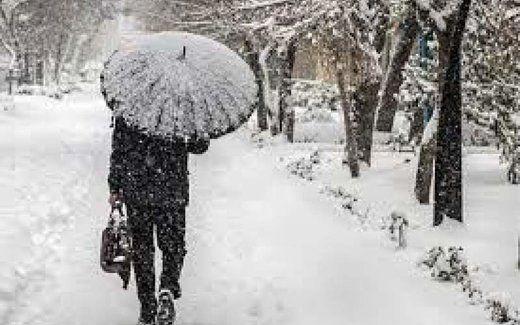 بارش برف و باران طی امروز و فردا در ۷ استان