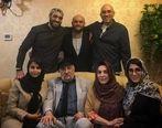 داریوش ارجمند بازیگر سریال ستایش به همراه همسر و فرزندانش + عکس