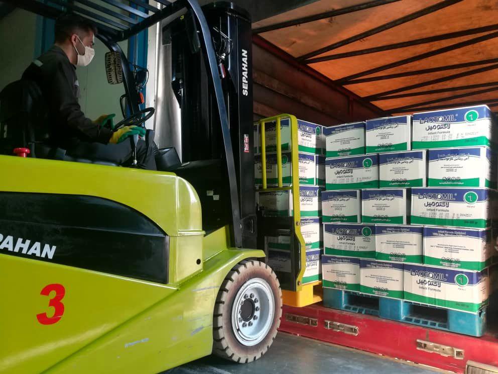 صادرات شیر خشک پگاه به ونزوئلا