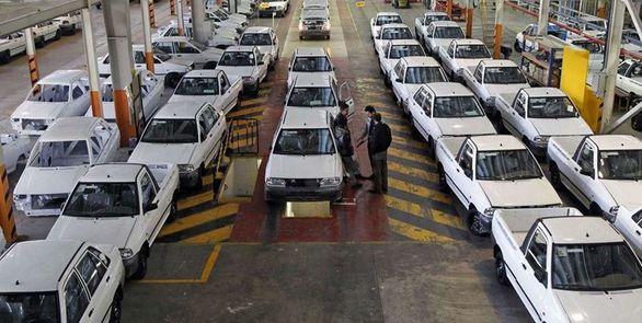 کاهش تولید خودرو در 8 ماهه امسال