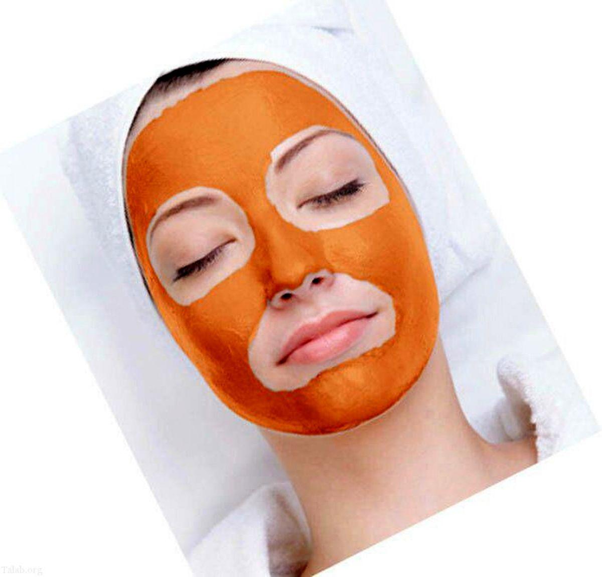 دستور تهیه ماسک زردچوبه برای پوست صورت