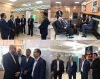 بازدید عضو هیات مدیره بانک قرض الحسنه مهرایران از شعب استان خوزستان