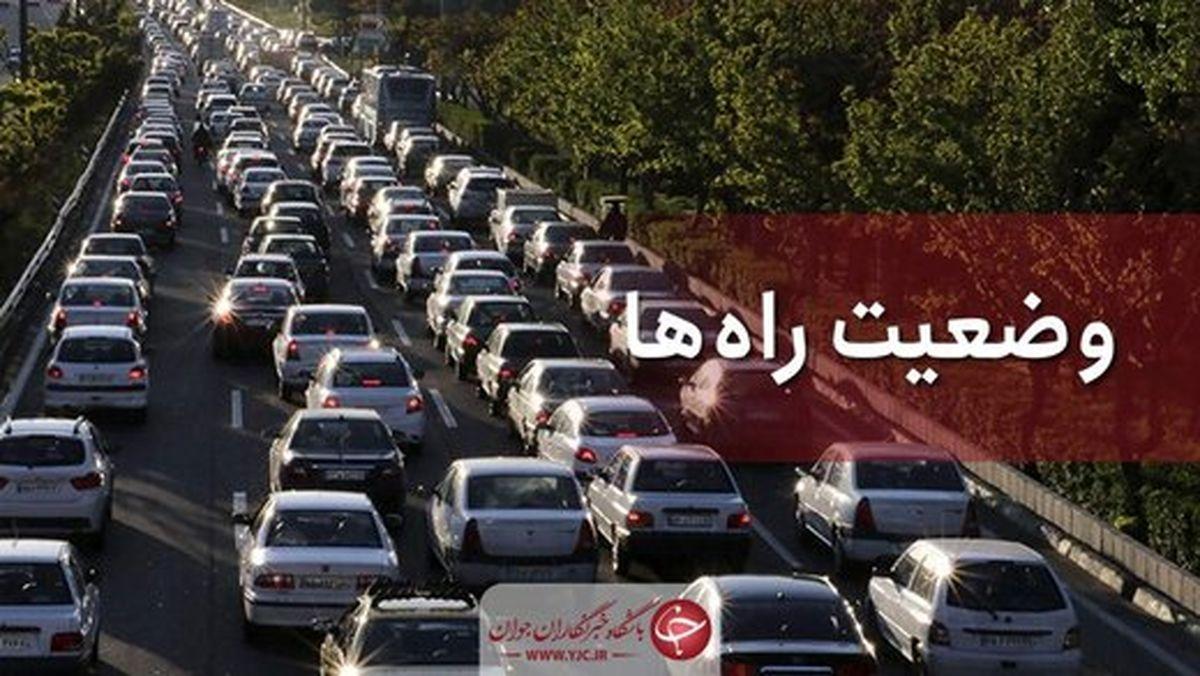 وضعیت جوی و ترافیکی جادههای کشور امروز  ۸ شهریور