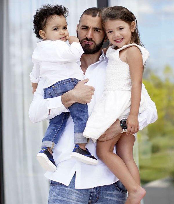 بنزما و فرزندانش