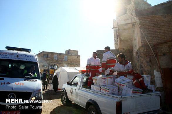 توزیع بیش از ۲ هزار و ۶۰۰ بسته غذایی میان زلزلهزدگان آذربایجان