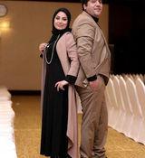 صبا راد و همسرش به ایران بازگشتند + فیلم