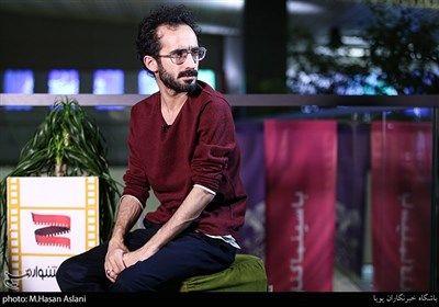 بهرام ارک کارگردان در هفتمین روز سی و هشتمین جشنواره فیلم فجر در پردیس چارسو