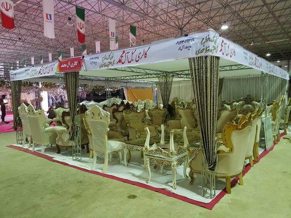 برپایی نمایشگاه مبلمان در منطقه آزاد اروند