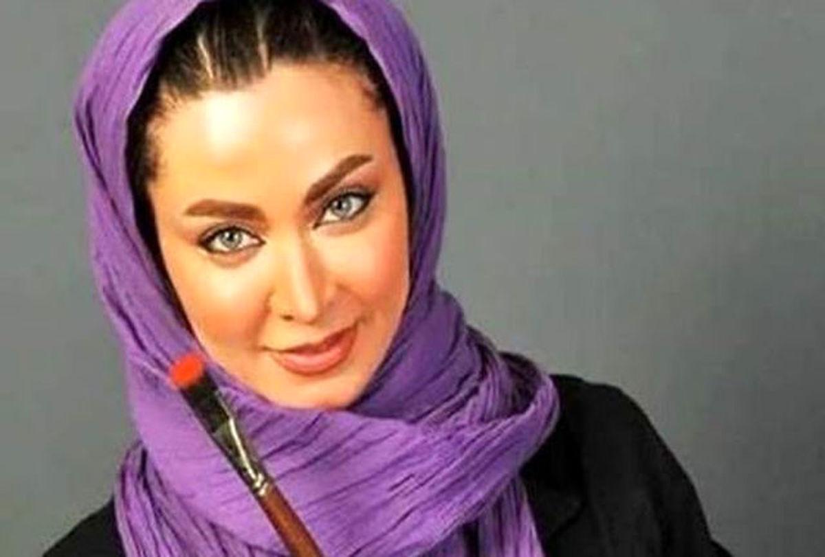 ست قرمز فقیهه سلطانی بازیگر جنجالی سریال یاور + عکس