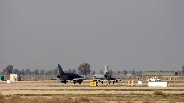 حمله خمپارهای به پایگاه هوایی بلد عراق