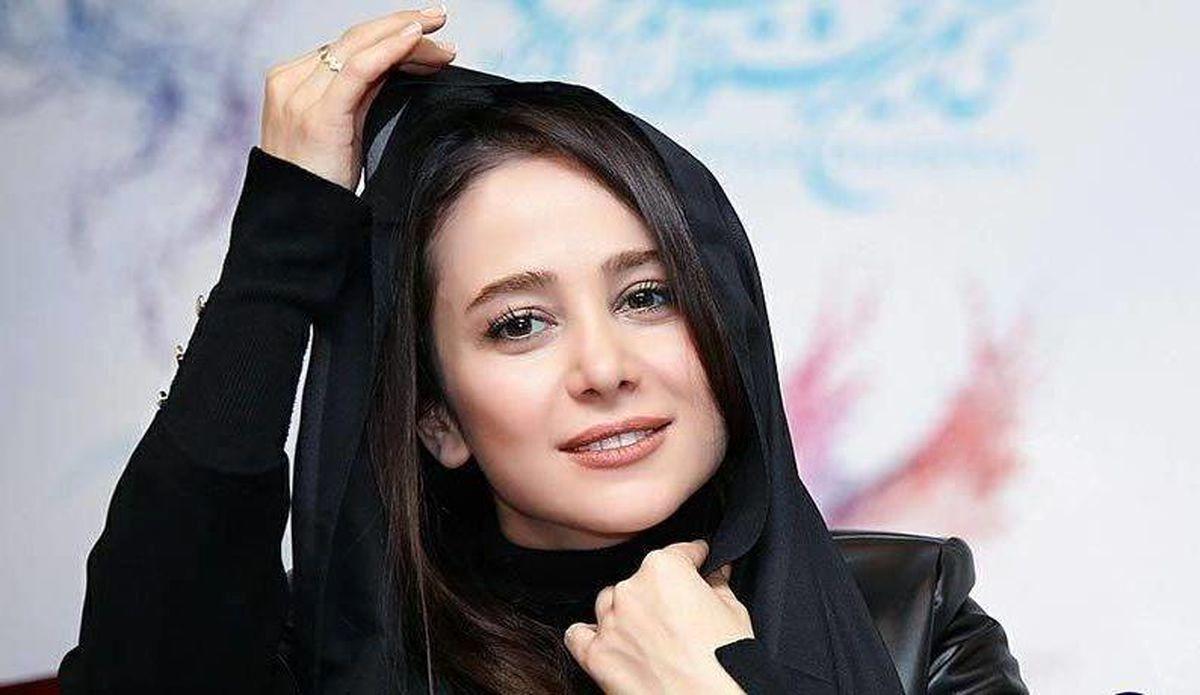 چهره جدید الناز حبیبی در کافه+عکس