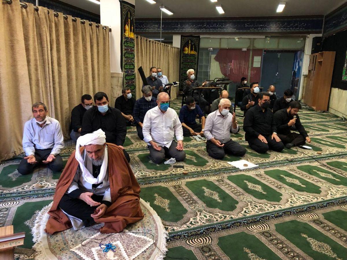 برگزاری مراسم عزاداری اربعین حسینی در شرکت ملی فولاد