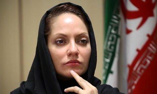 مهناز افشار از راهپیمایی 22 بهمن عصبانی شد + فیلم