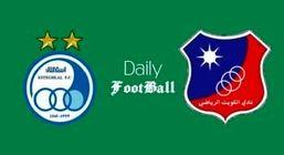 پخش زنده بازی استقلال و الکویت