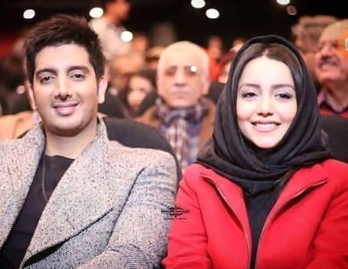 فرزاد فرزین از همسر جوانش رونمایی کرد + تصاویر دونفره
