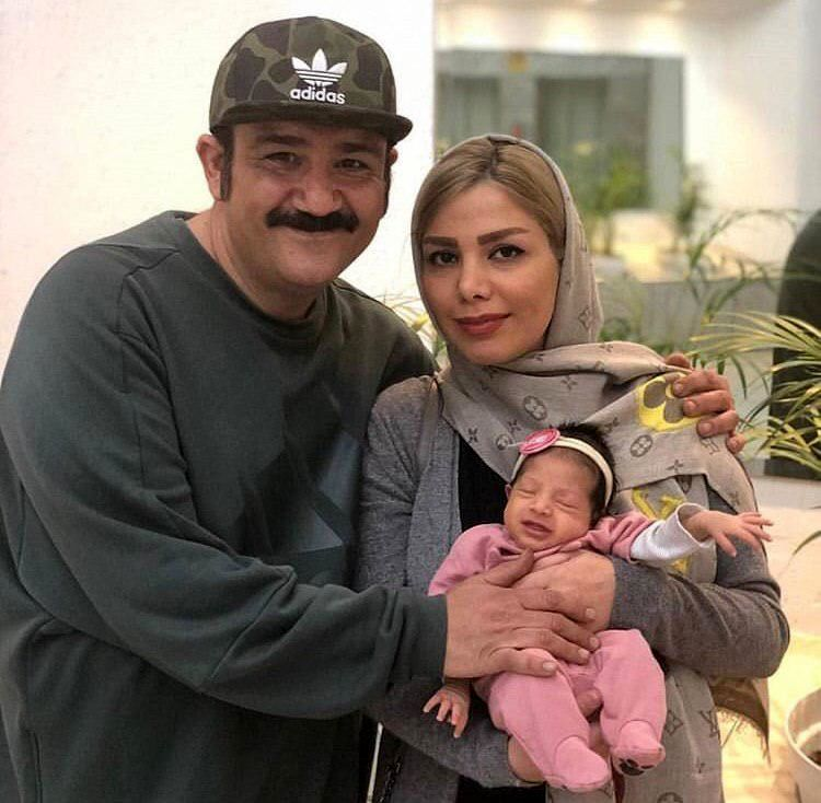 مهران غفوریان از پزشک خانودگیش رونمایی کرد + عکس