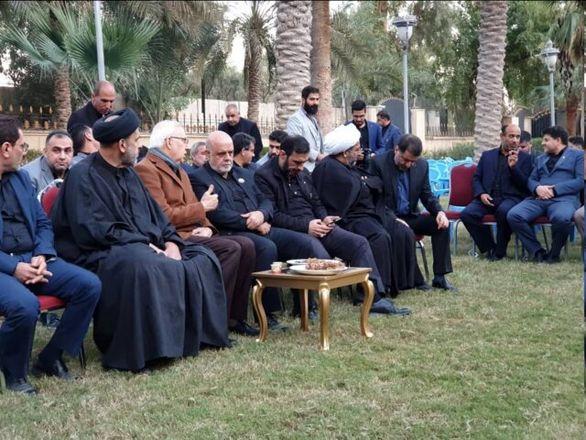 سردار سلیمانی به دعوت نخست وزیر عراق به بغداد سفر کرده بود