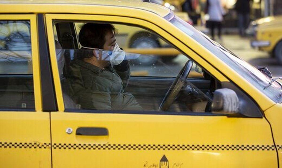 کرونا | ارائه مشخصات ۸۰ هزار راننده تاکسی برای دریافت تسهیلات با شیوع کرونا