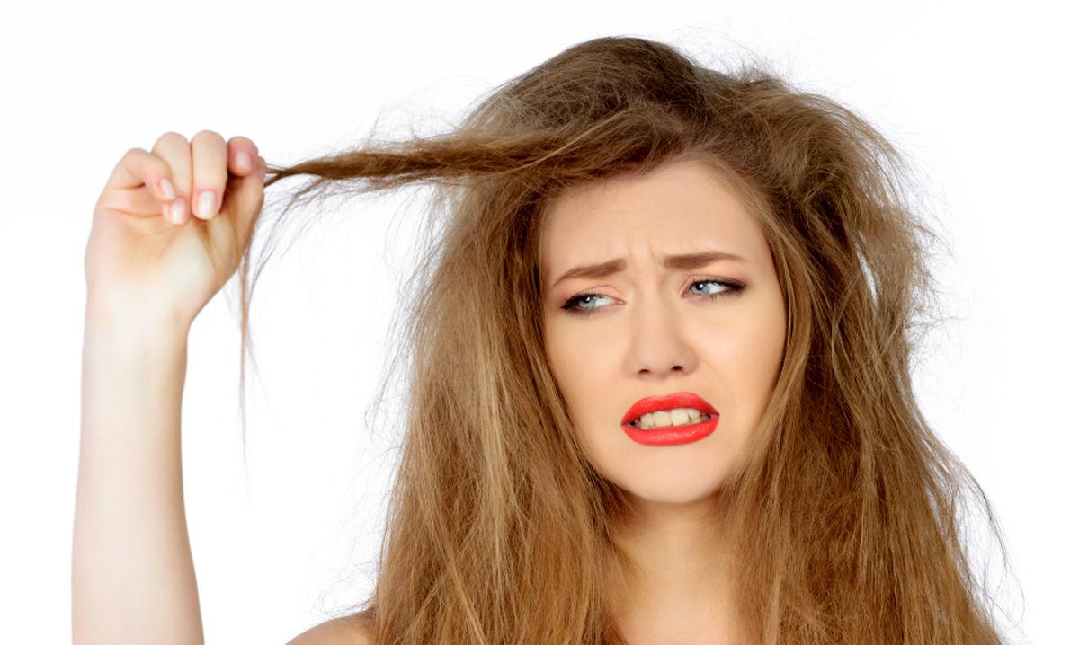 بازسازی موهای سوخته و وزشده با روش های خانگی
