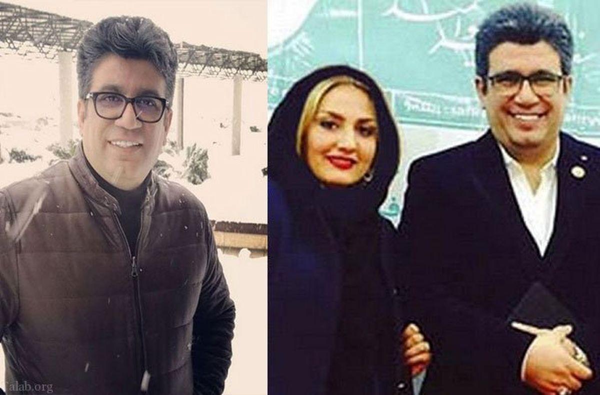 رضا رشید پور از همسرش جدا شد + عکس همسرش