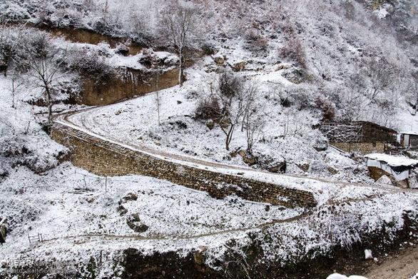 آخرین وضعیت جادهها و بارش برف در سراسر کشور پنجشنبه 19 دی