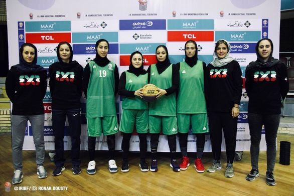 دختران بسکتبال ایران در راه چین