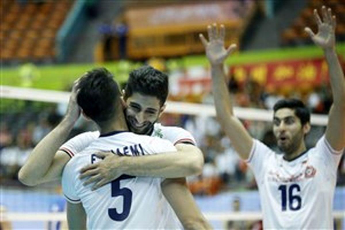 نتیجه بازی والیبال ایران و چین تایپه + خلاصه بازی | پنجشنبه 28 شهریور