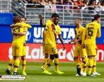 بارسلونا با درخشش خط حمله اش برد