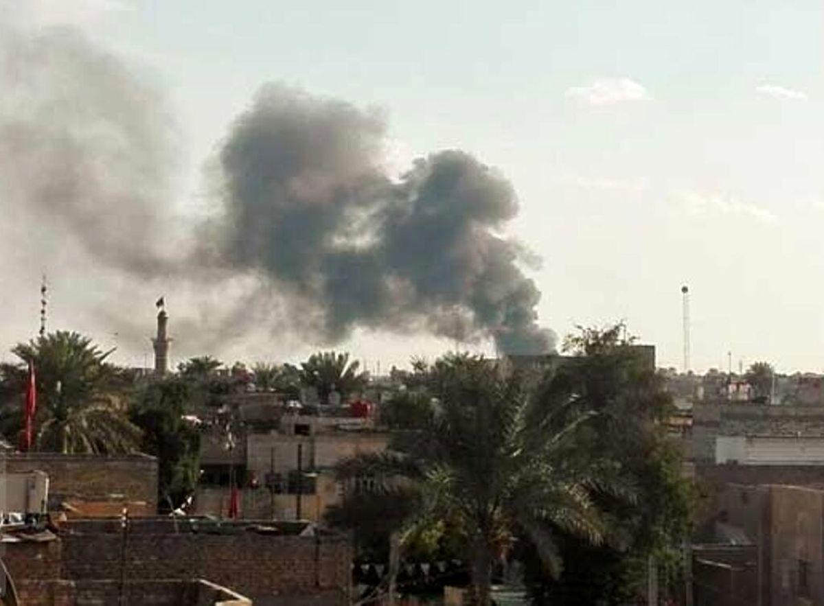 حزئیات حمله موشکی به نزدیکی سفارت امریکا در عراق