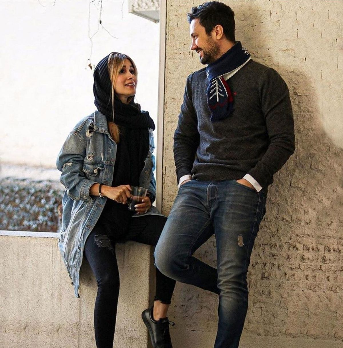 نظر کاربران توئیتر در مورد میکاپ همسر شاهرخ استخری + عکس شاهرخ استخری
