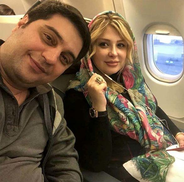 استوری نیوشا ضیغمی از حادثه هواپیمای کرمانشاه + فیلم